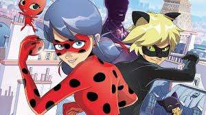 Slider d'images de l'animation LadyBug et Le Chat Noir !
